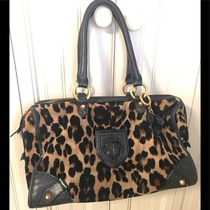 Beautiful Juicy Couture Handbag Leopard Print